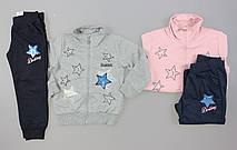 Трикотажный костюм-двойка для девочек F&D оптом, 4-12 лет. {есть:4 года,6 лет}