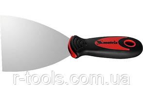 Шпательная лопатка из нержавеющей стали 150 мм 2 комп ручка MTX 855159