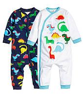 """Детские человечки  """"Динозаврики""""  1-2, 4-6 месяцев"""