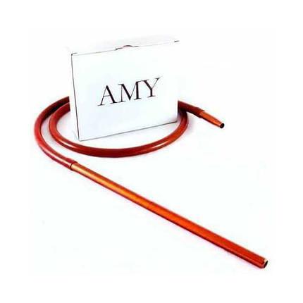 Силиконовый шланг AMY Deluxe Aluminium Long оранжевый, фото 2