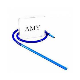 Силиконовый шланг AMY Deluxe Aluminium Long синий
