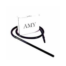 Силиконовый шланг AMY Deluxe Aluminium Long черный
