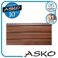 Панель софіт ASKO з перфорацією 3,5 м., 1,07 м. кв./панель. Колір: Горіх