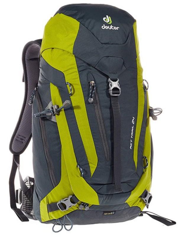 Купить Рюкзак DEUTER ACT Trail, 3440115 4212, 24л, зеленый