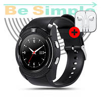 Смарт-часы Lemfo V8 Smart Watch  Black