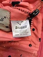 Двухсторонние ветровки для девочек оптом, Seagull, 4-12 лет, арт. CSQ-65051, фото 7