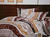 Хлопковое постельное белье из жатки полуторка.
