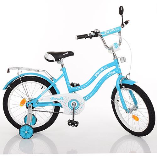 Красивый велосипед 16 дюймов PROF1 L1694 Star Гарантия качества Быстрая доставка