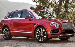 Диски и шины на Bentley Bentayga
