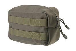 Малый подсумок cargo горизонтальный - olive [Primal Gear] (для страйкбола)