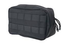 Малый подсумок cargo горизонтальный - black [Primal Gear] (для страйкбола)