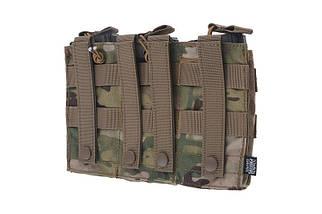 Тройной подсумок Open I для магазинов AK/M4/G36 - Multicam® [Primal Gear] (для страйкбола), фото 2