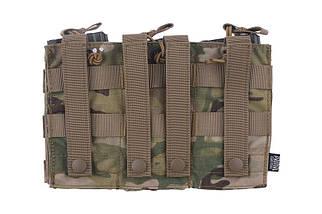 Тройной подсумок Open I для магазинов AK/M4/G36 - Multicam® [Primal Gear] (для страйкбола), фото 3