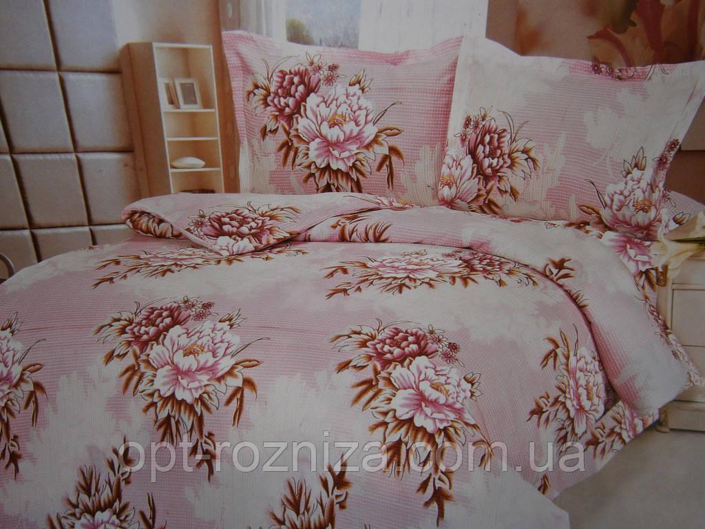 Двуспальные постельные комплекты из жатки хорошего качества