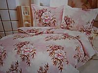 Двуспальные постельные комплекты из жатки хорошего качества, фото 1
