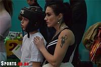 """Школа карате для детей в Днепропетровске """"Сакура"""" приняла участие в областных соревнованиях по спаррингу!"""