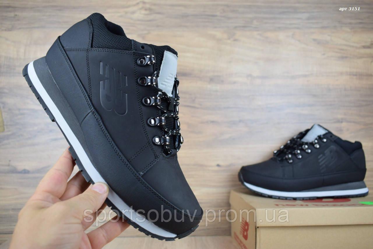 Мужские зимние кроссовки New Balance 754 черные  продажа, цена в ... f320d77846b