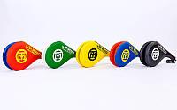 Ракетка для тхэквондо двойная Mooto F-06: 5 цветов, фото 1