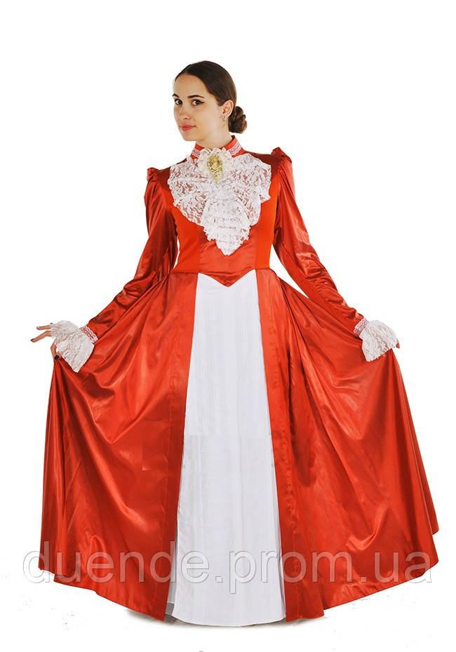 Костюм с жабо женский карнавальный костюм / BL - ВЖ299