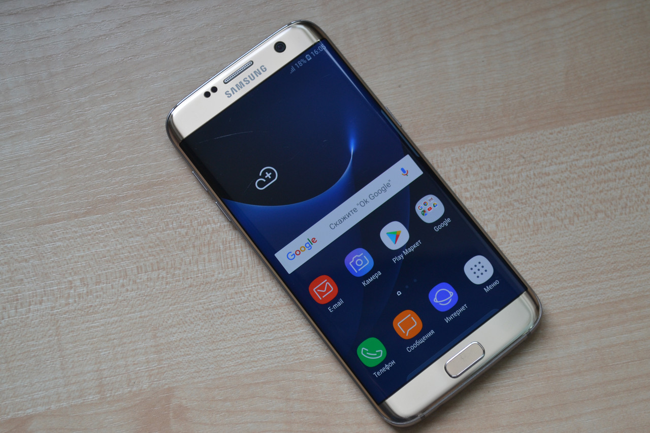Samsung Galaxy S7 Edge SM-G935T Gold Оригинал!