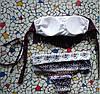 Стильный раздельный купальник Бахрома, цветочки, фото 3