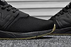 Мужские кроссовки New Balance 247 Triple Black (реплика), фото 3