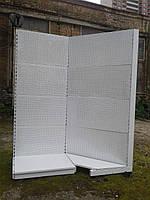 Стеллаж перфорированный бу. , фото 1