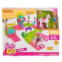 Набор Barbie On the GO Парк аттракционов Mattel FHV70