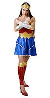 Чудо женщина женский карнавальный костюм Wonder Woman