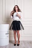 Женская юбка с фатином, фото 8