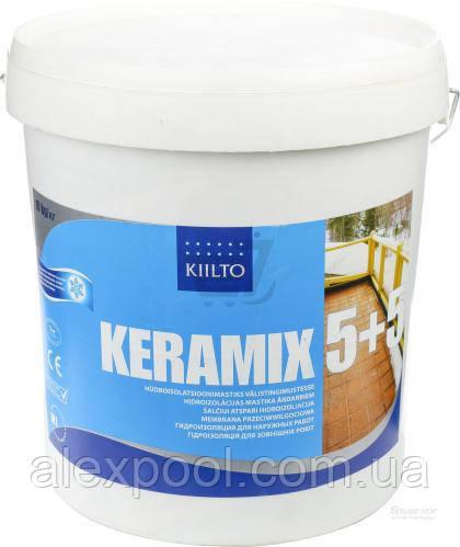 Акрилова Мастика Kiilto Keramix (5+5) двокомпонентна 10 кг