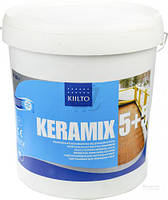 Мастика акриловая Kiilto Keramix (5+5) двухкомпонентная 10 кг
