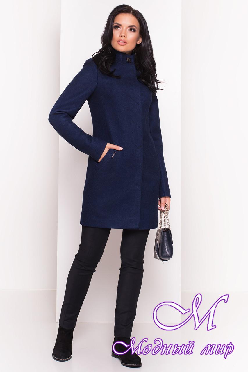 Кашемировое женское демисезонное пальто (р. S, M, L) арт. Люцея 5428 - 36727