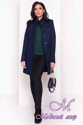 Кашемировое женское демисезонное пальто (р. S, M, L) арт. Люцея 5428 - 36727, фото 2
