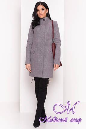 Демисезонное женское пальто из кашемира (р. S, M, L) арт. Люцея 5428 - 36723, фото 2