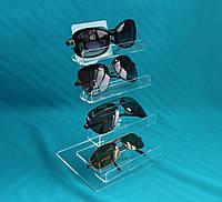 Торгова стійка під окуляри з оргскла, фото 1