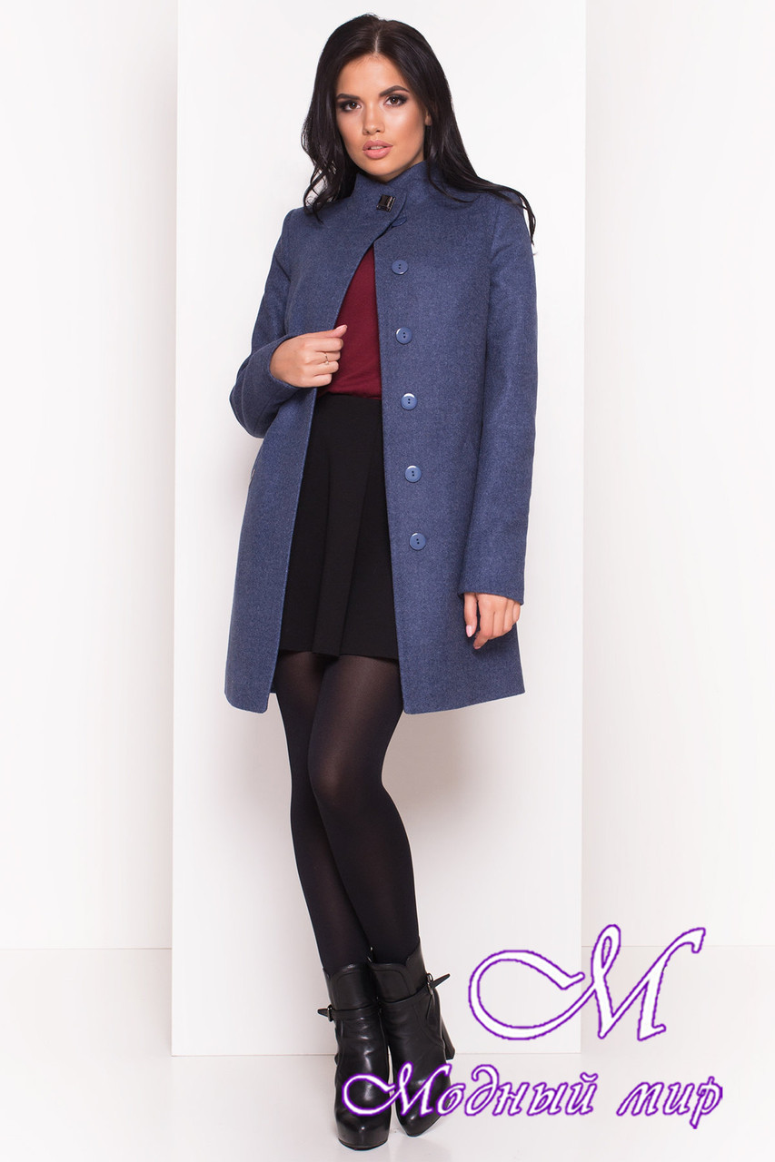 Демисезонное женское пальто из кашемира (р. S, M, L) арт. Люцея 5428 - 36721