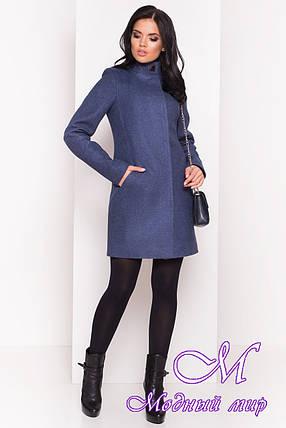 Демисезонное женское пальто из кашемира (р. S, M, L) арт. Люцея 5428 - 36721, фото 2