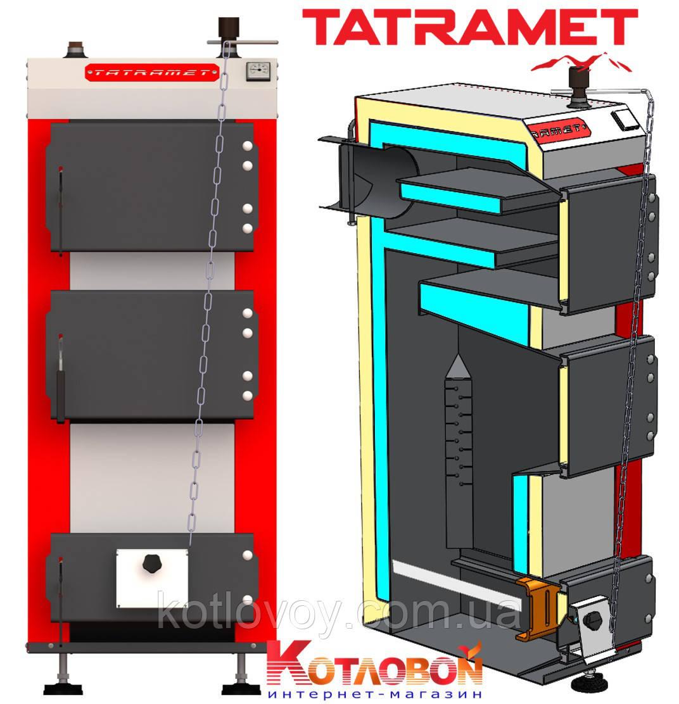 Твердотопливный котёл Tatramet KOMFORT