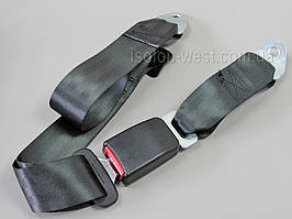 Ремень безопасности новый, двухточечный, неинерционный 130 см х 5 см