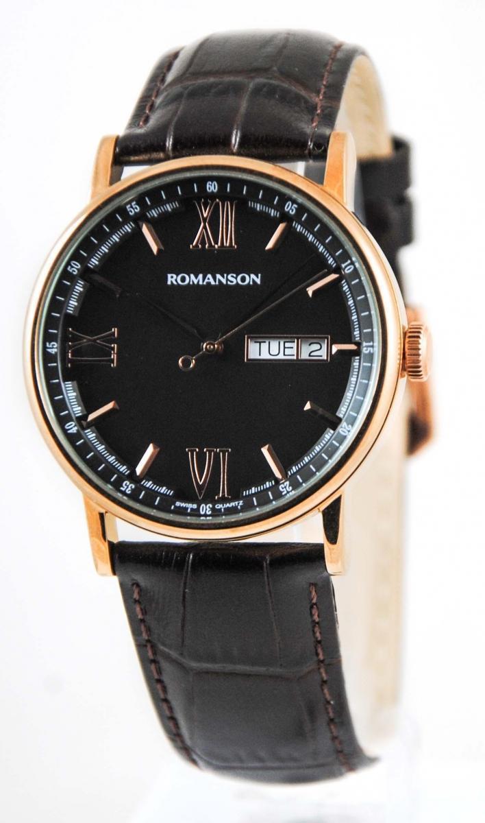 Часы Romanson TL1275MRG BK