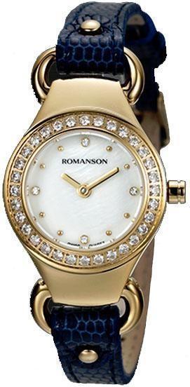 Часы Romanson RN2633QLG WH