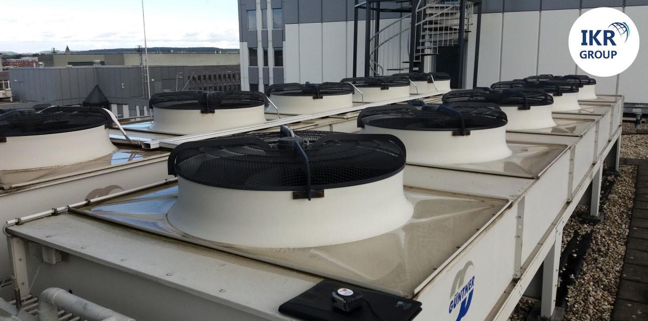 Конденсатор повітряного охолодження Б/У Güntner S GVH 101A 5S 332 кВт