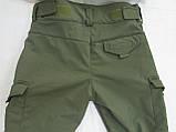 Костюм утепленный серии Антитеррор (Куртка и брюки) из ткани совтшел олива, фото 4