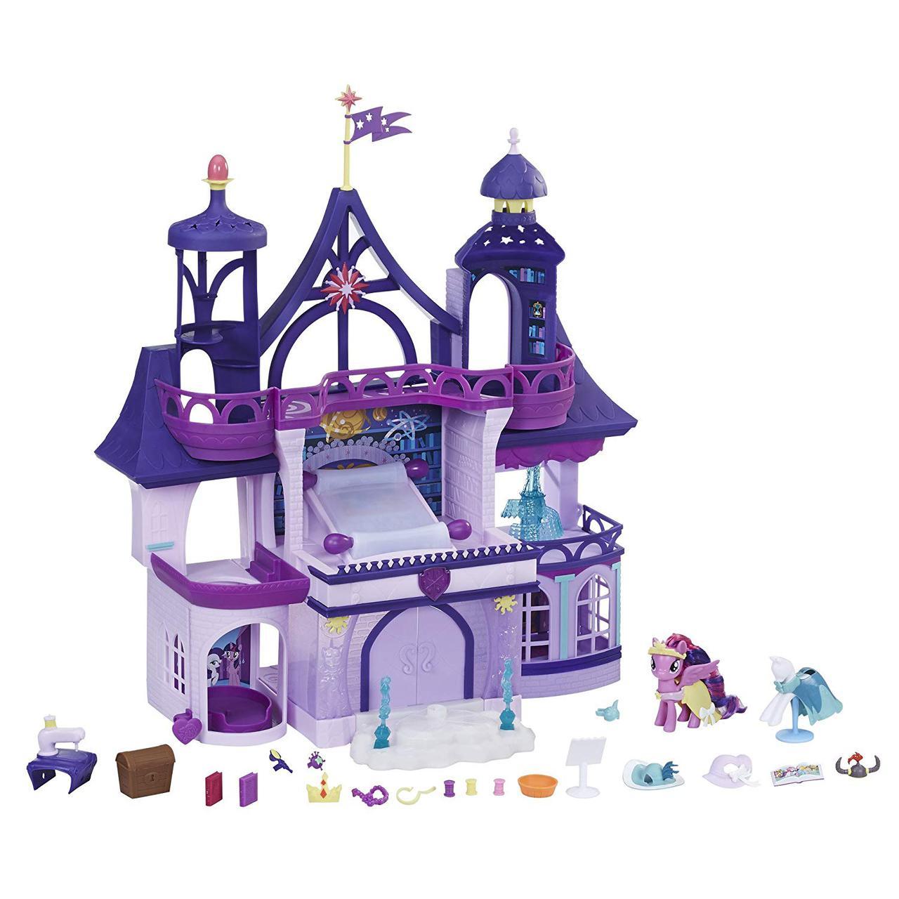 Май Литл Пони Замок Сумеречной Искорки Твайлайт Спаркл My Little Pony Twilight Sparkle Magic School
