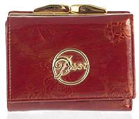 4b2d4f66f1c0 Маленький женский кожаный кошелек высокого качества art.CD-3923 В красный