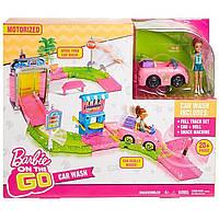 Набор Barbie On the GO Автомойка Mattel FHV91