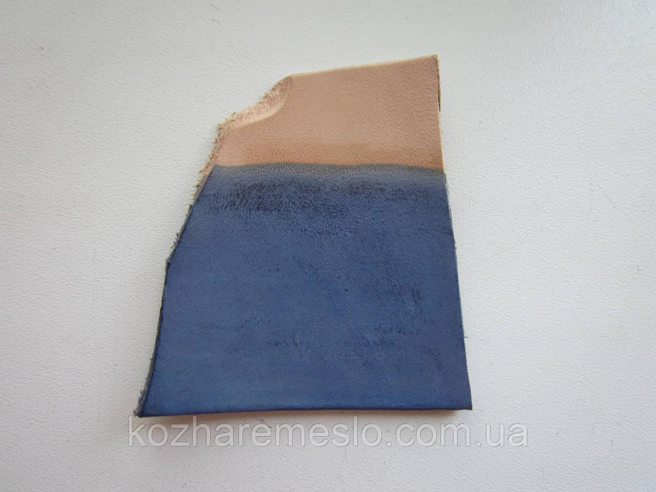 Краска для кожи WATERSTAIN Fenice на водной основе 100 мл синяя (Италия)