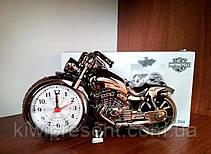 Часы будильник «Мотоцикл» большой Alarm Clock, фото 2