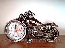 Часы будильник «Мотоцикл» большой Alarm Clock, фото 3